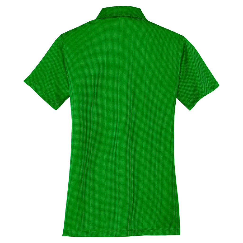 Port Authority Women's Vine Green Performance Jacquard Polo