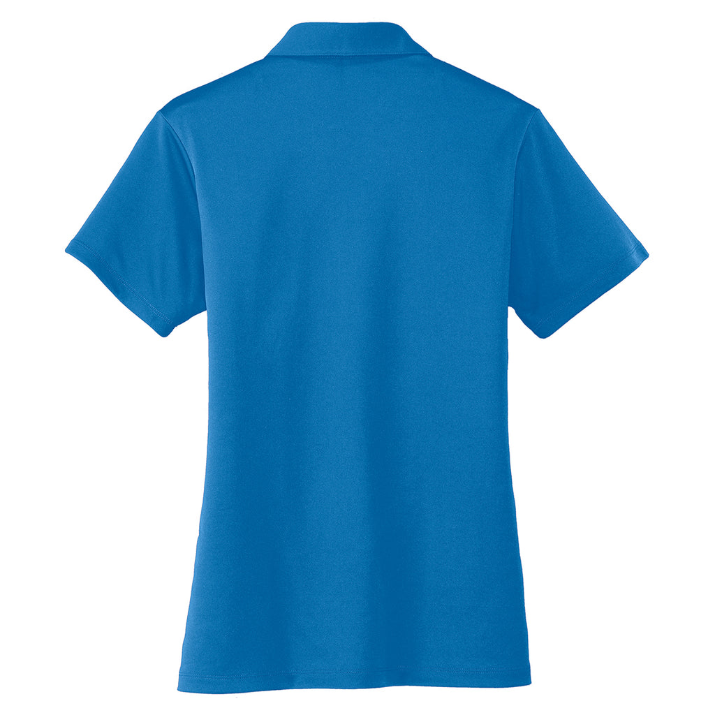 Port Authority Women's Brilliant Blue Performance Poly Polo