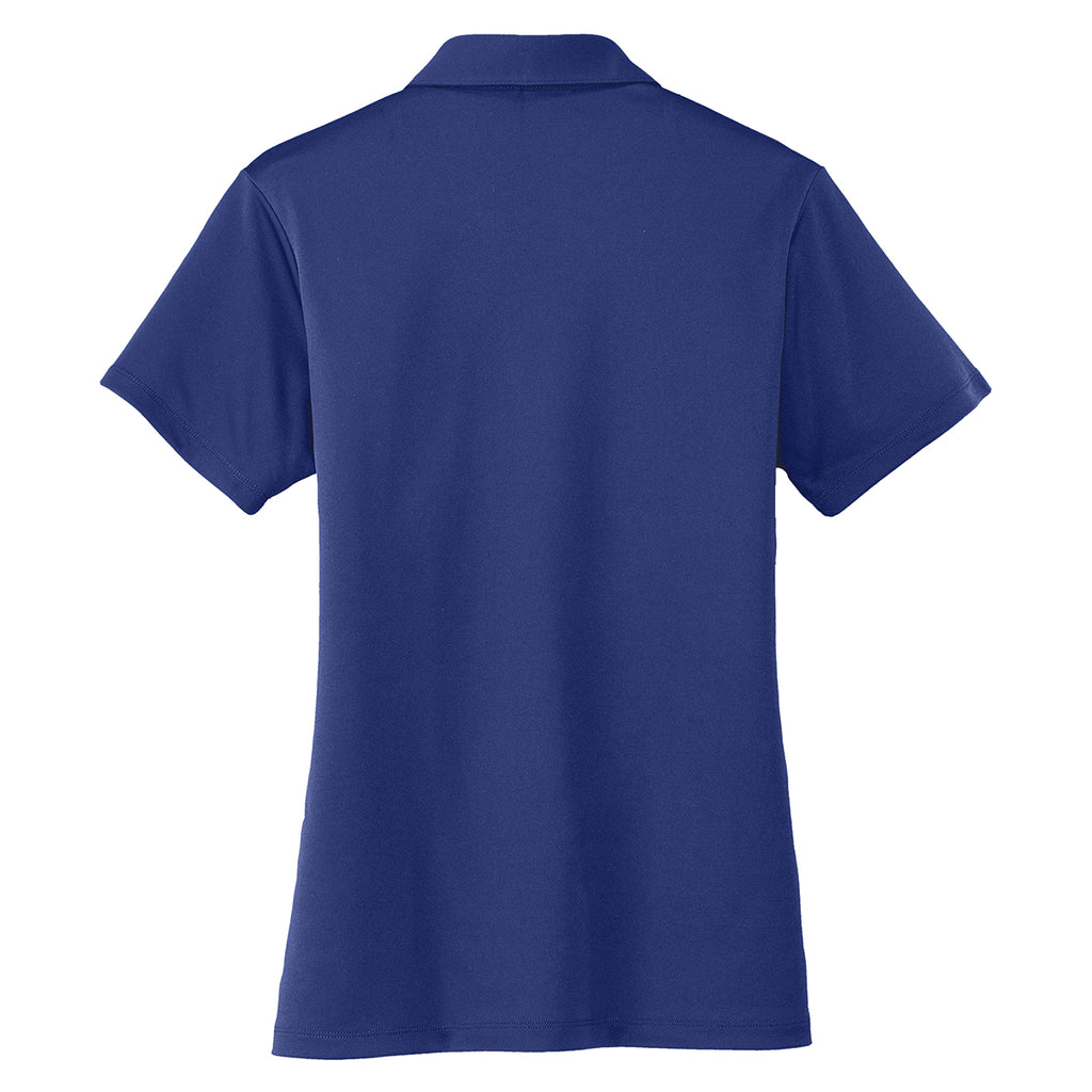 Port Authority Women's Royal Blue Performance Poly Polo