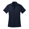 port-authority-womens-navy-poly-polo