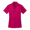 port-authority-womens-pink-poly-polo
