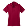 port-authority-womens-red-poly-polo