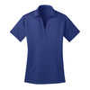 port-authority-womens-blue-poly-polo