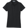 port-authority-women-black-pocket-polo