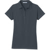 port-authority-women-grey-pocket-polo