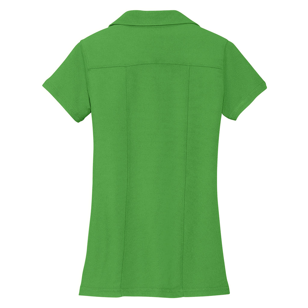 Port Authority Women's Vine Green Modern Stain Resistant Polo
