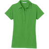 port-authority-women-green-pocket-polo