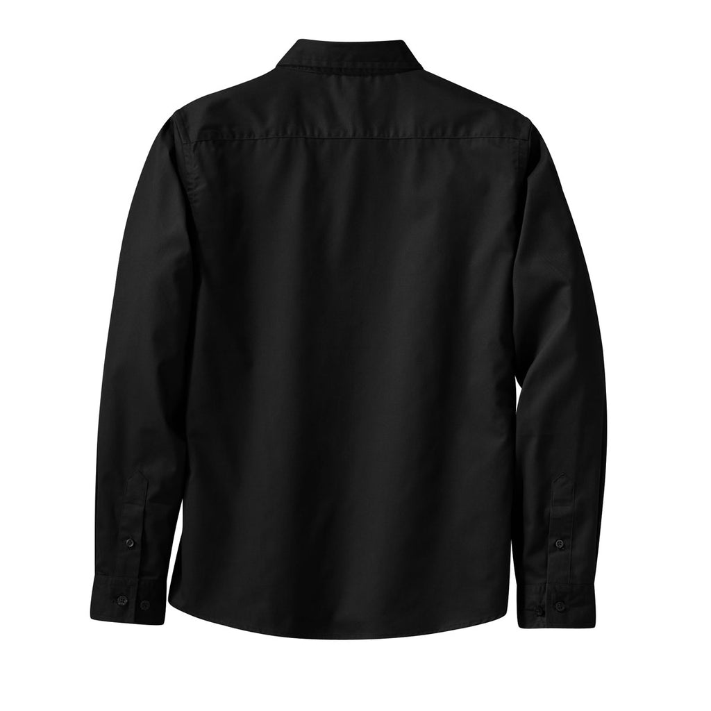 Port Authority Women's Black L/S Easy Care Shirt