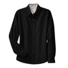 port-authority-womens-black-dress-shirt