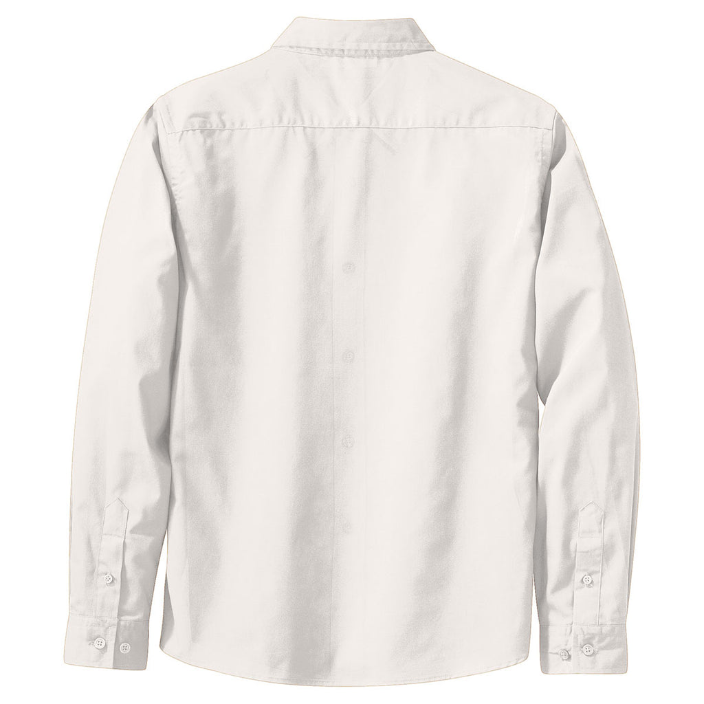 Port Authority Women's White L/S Easy Care Shirt