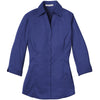 murray-copy-of-port-authority-womens-mediterranean-blue-3-4-sleeve-blouse