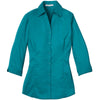 port-authority-women-turquoise-blouse