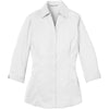 murray-port-authority-womens-white-3-4-sleeve-blouse