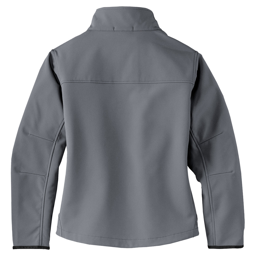 Port Authority Women's Smoke Grey Glacier Softshell Jacket