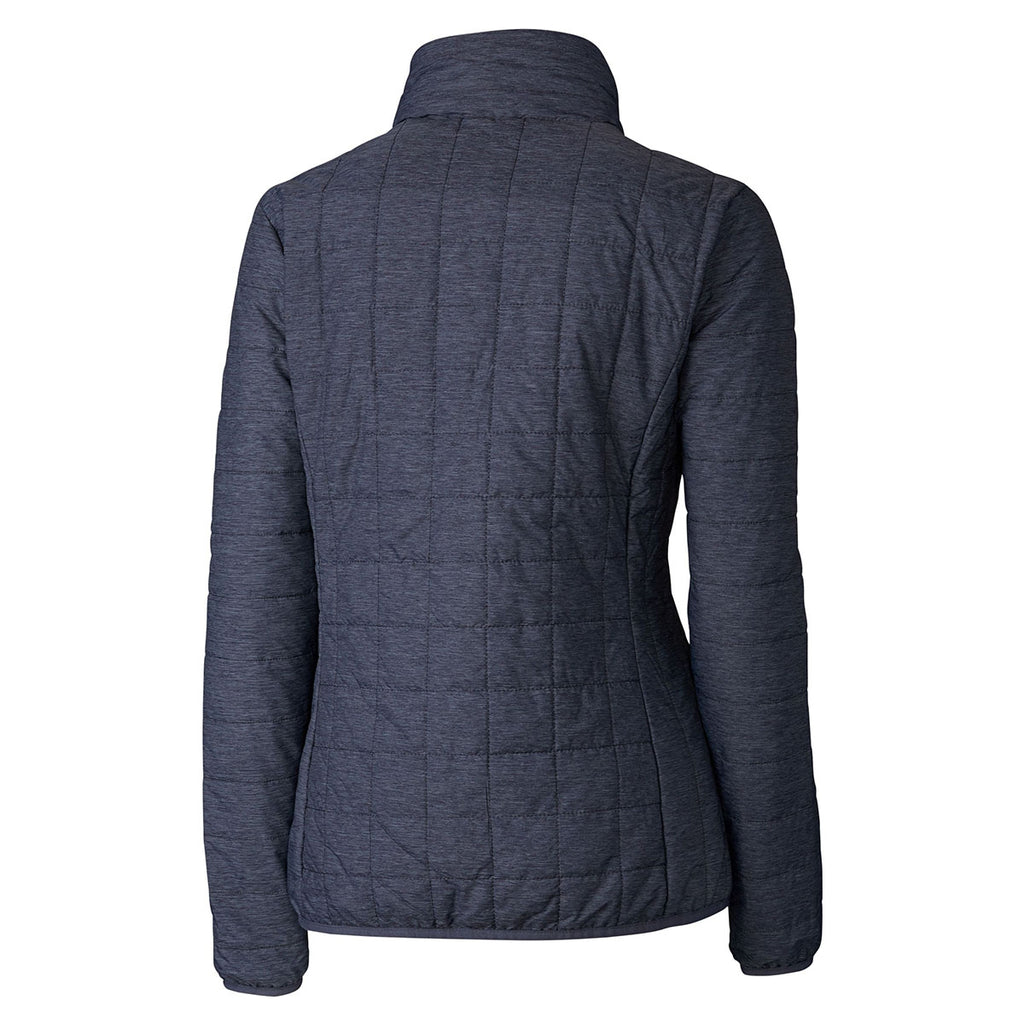 Cutter & Buck Women's Anthracite Melange Rainier Jacket
