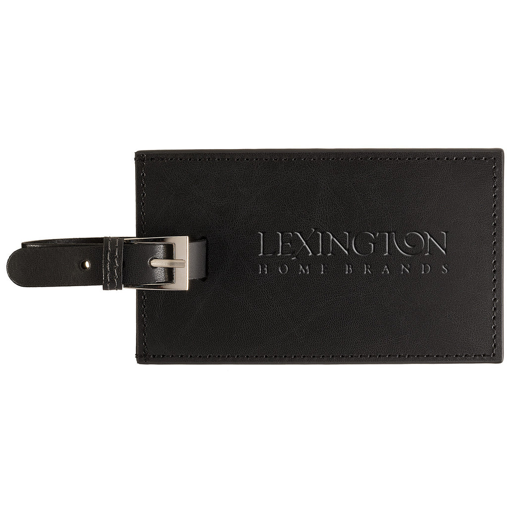 Leeman Black Whitney Luggage Tag