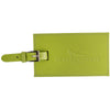 Leeman Lime Green Whitney Luggage Tag