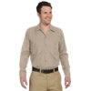 dickies-beige-industrial-long-sleeve-shirt