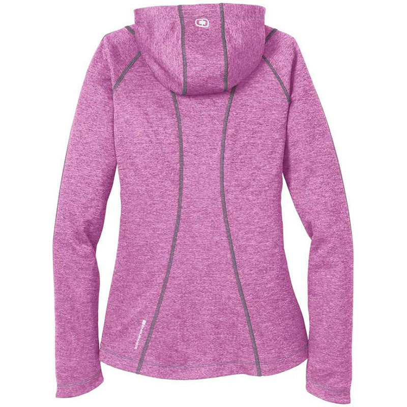 OGIO Endurance Women's Purple Impact Pursuit Full Zip