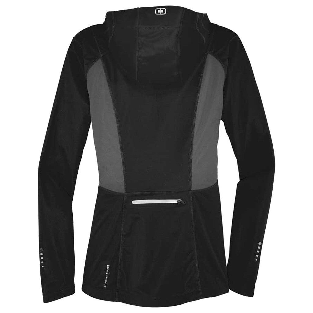 OGIO Endurance Women's Blacktop/Gear Grey Pivot Soft Shell