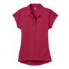 ogio-womens-red-linear-polo