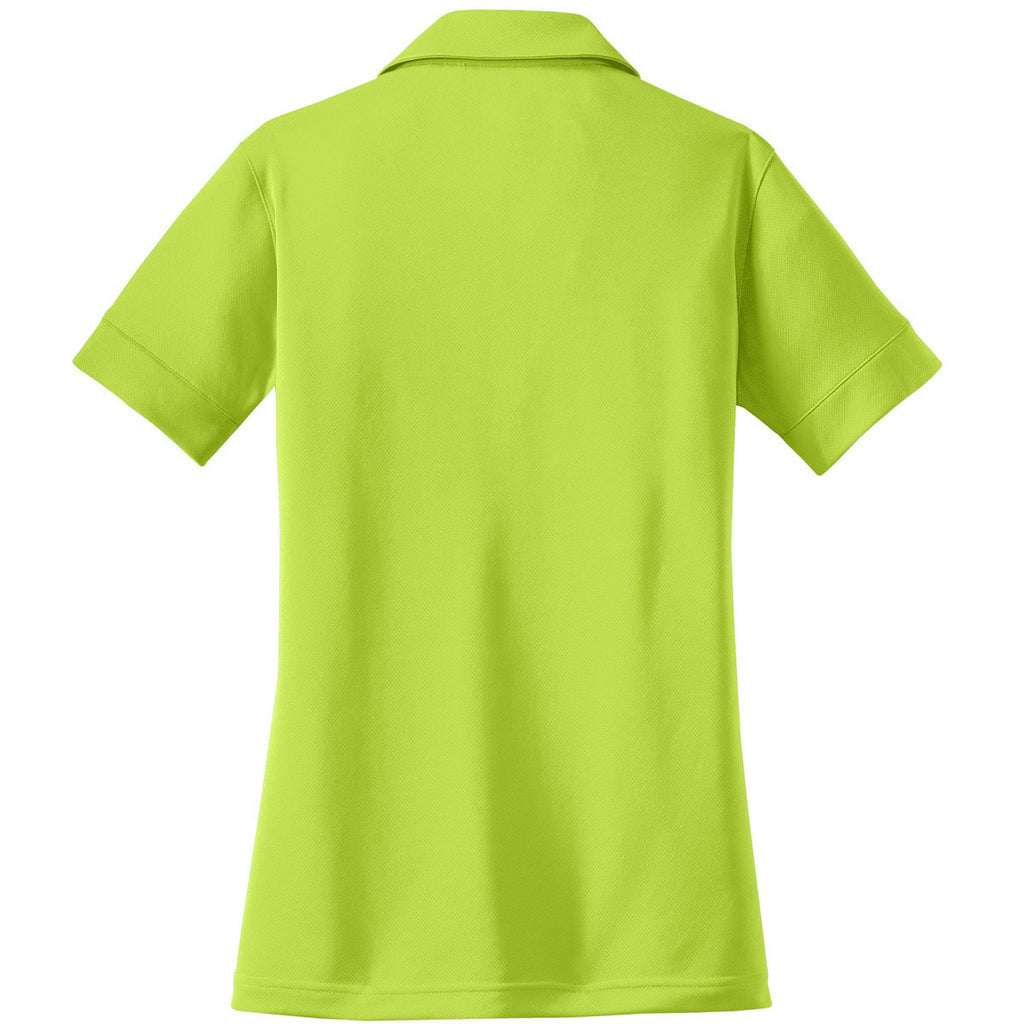 OGIO Women's Shock Green Glam Polo