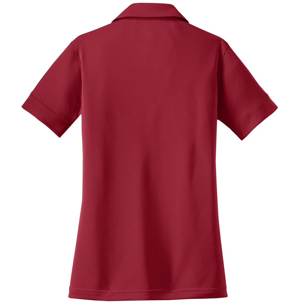 OGIO Women's Signal Red Glam Polo