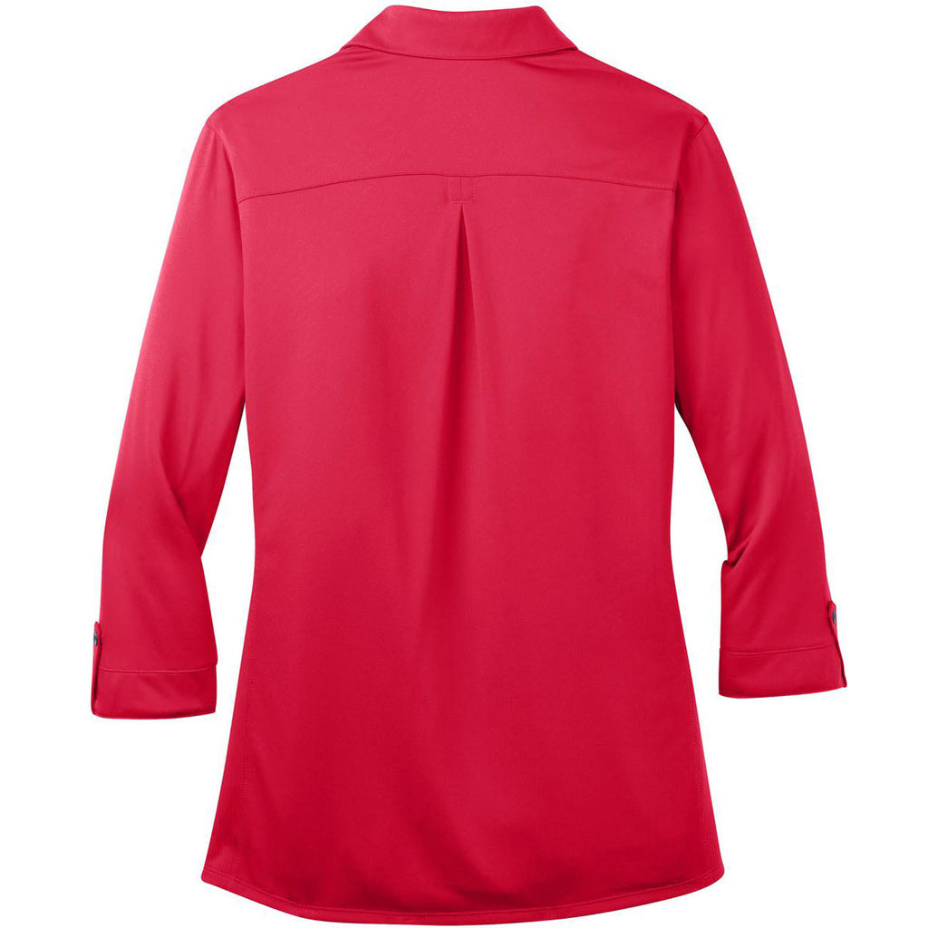 OGIO Women's Pink Rouge Pearl Polo
