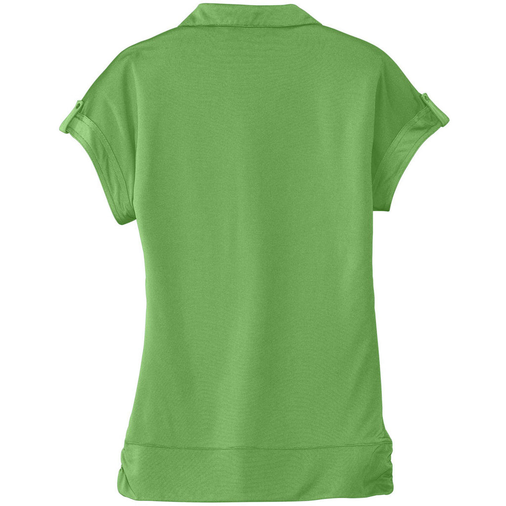 OGIO Women's Astro Green Leveler Polo
