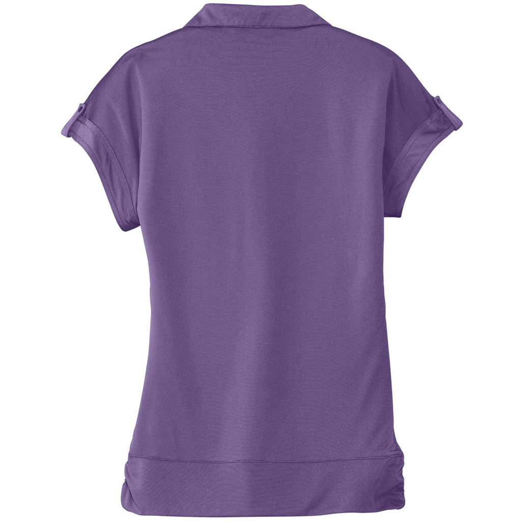 OGIO Women's Purple Haze Leveler Polo
