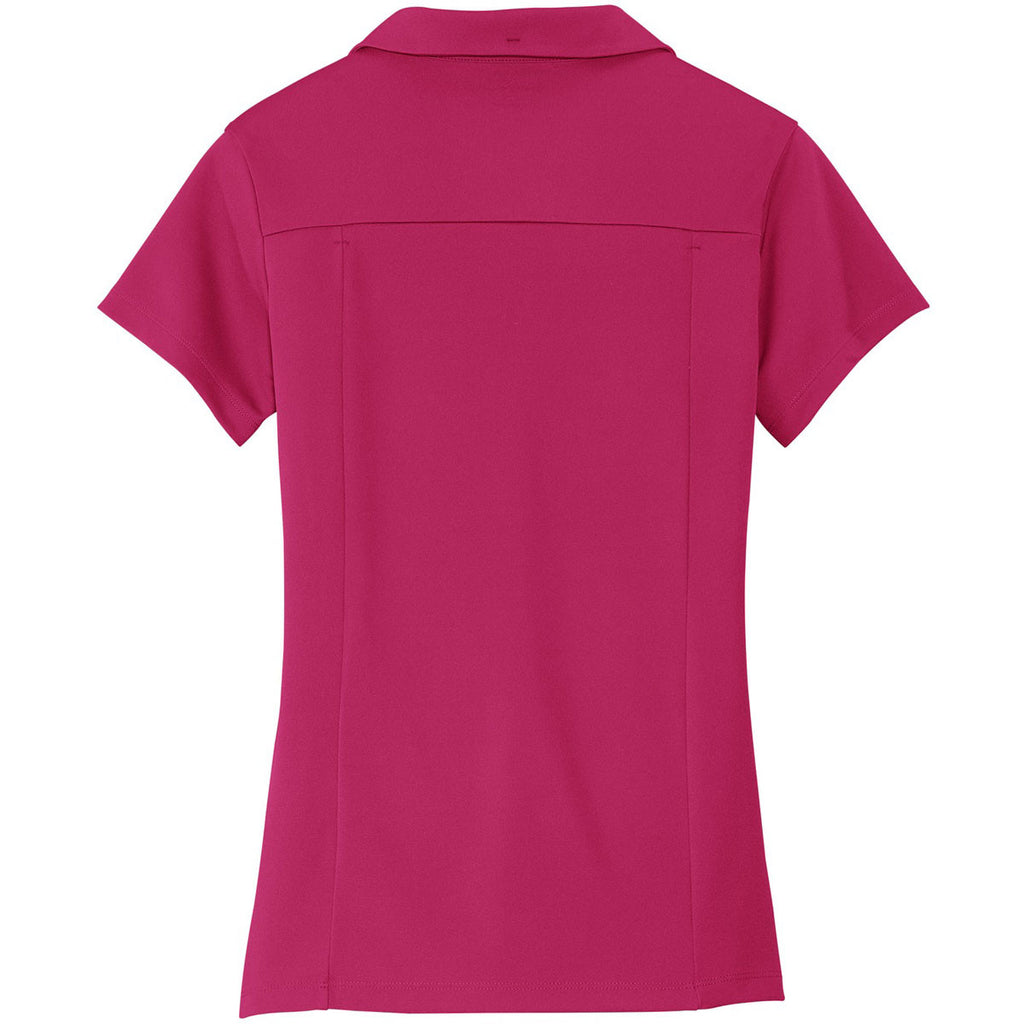 OGIO Women's Pink Punch Framework Polo