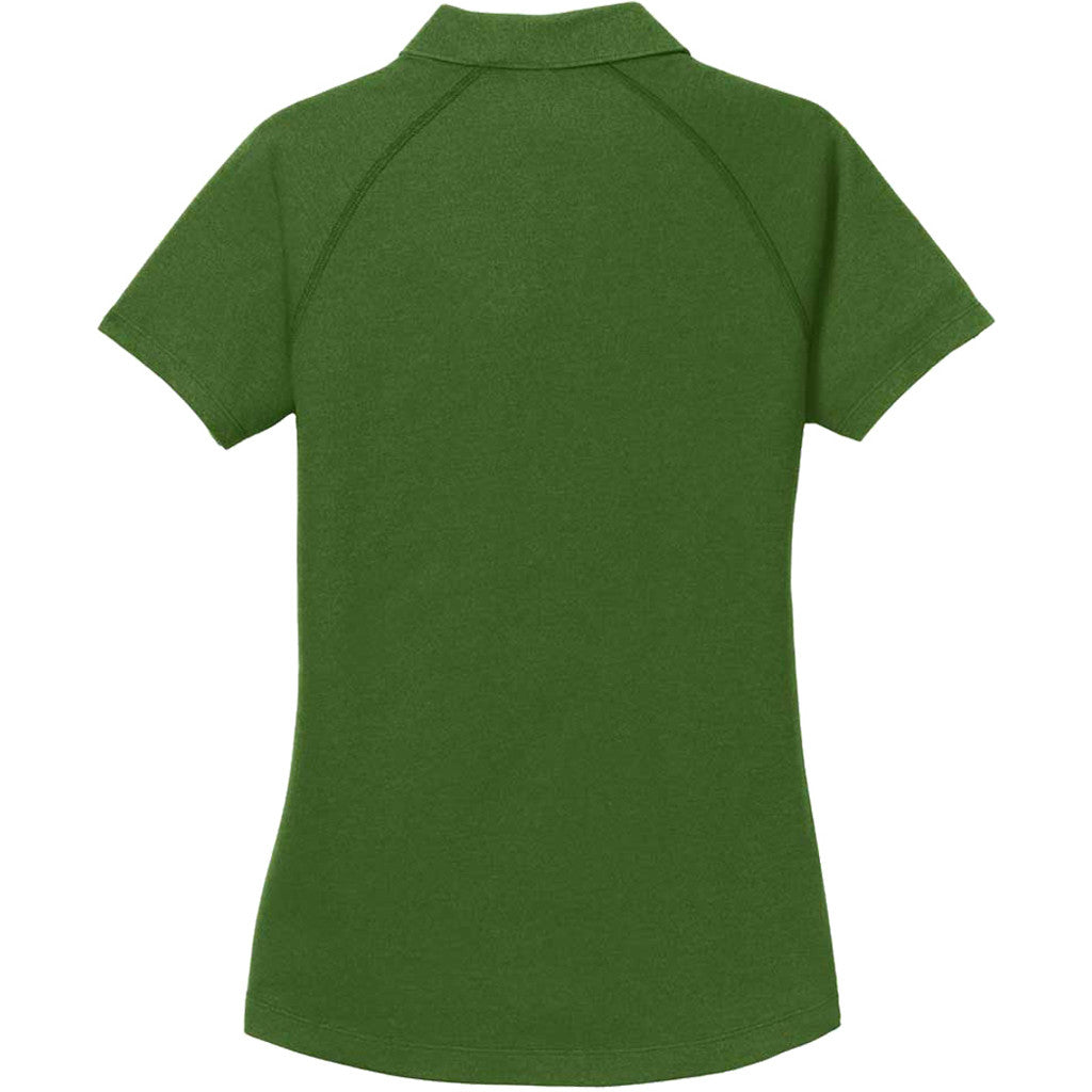 OGIO Women's Gridiron Green Onyx Polo