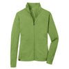 ogio-womens-pixel-light-green-quarter-zip
