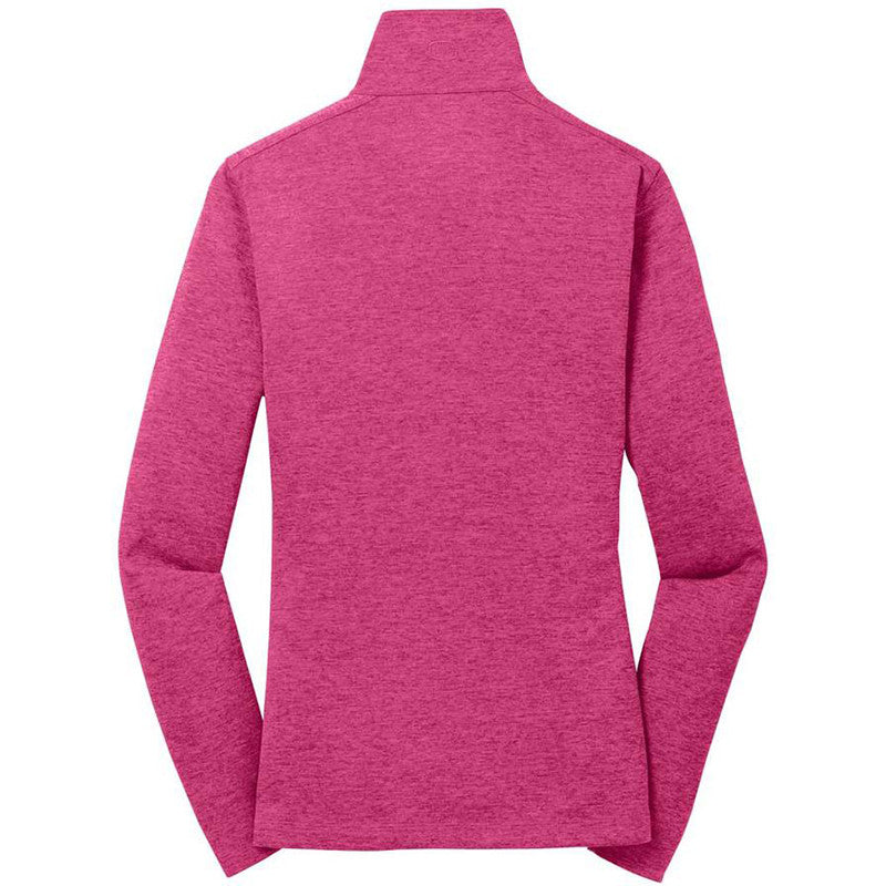 OGIO Women's Pink Crush Pixel Full Zip