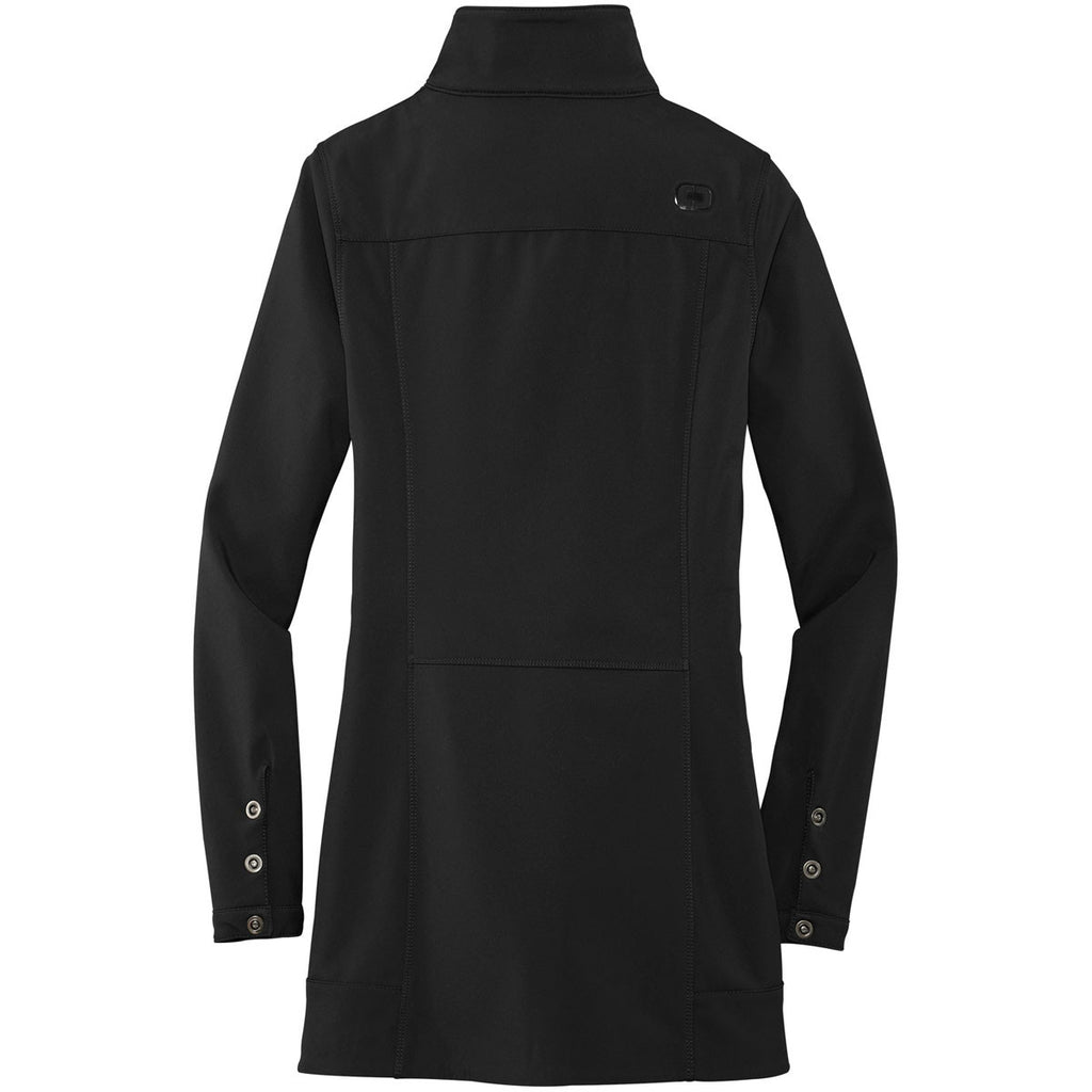 OGIO Women's Black Intake Trench