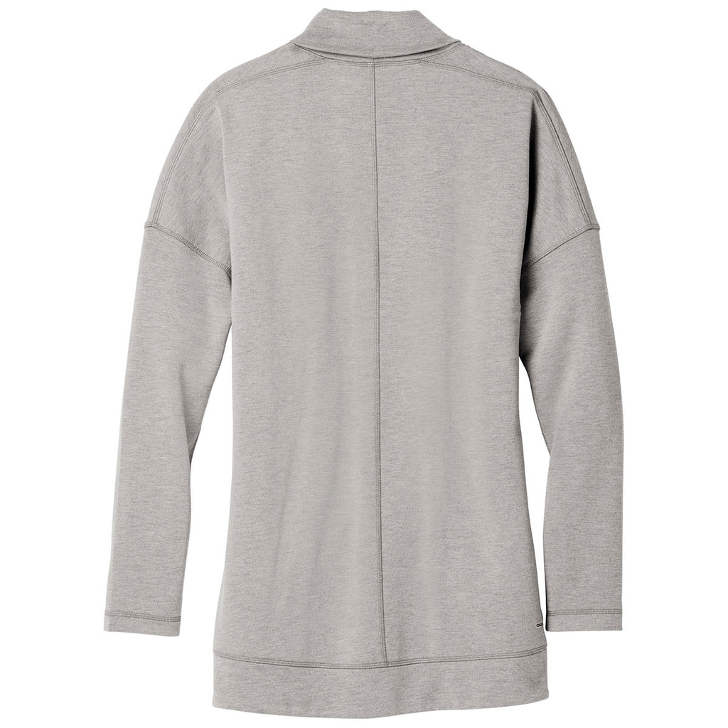 OGIO Women's Petrol Grey Heather Luuma Cocoon Fleece