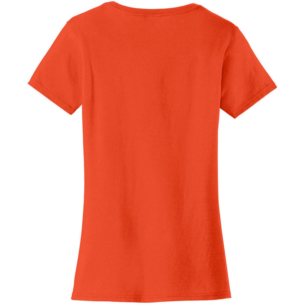 Port & Company Women's Orange Fan Favorite Tee