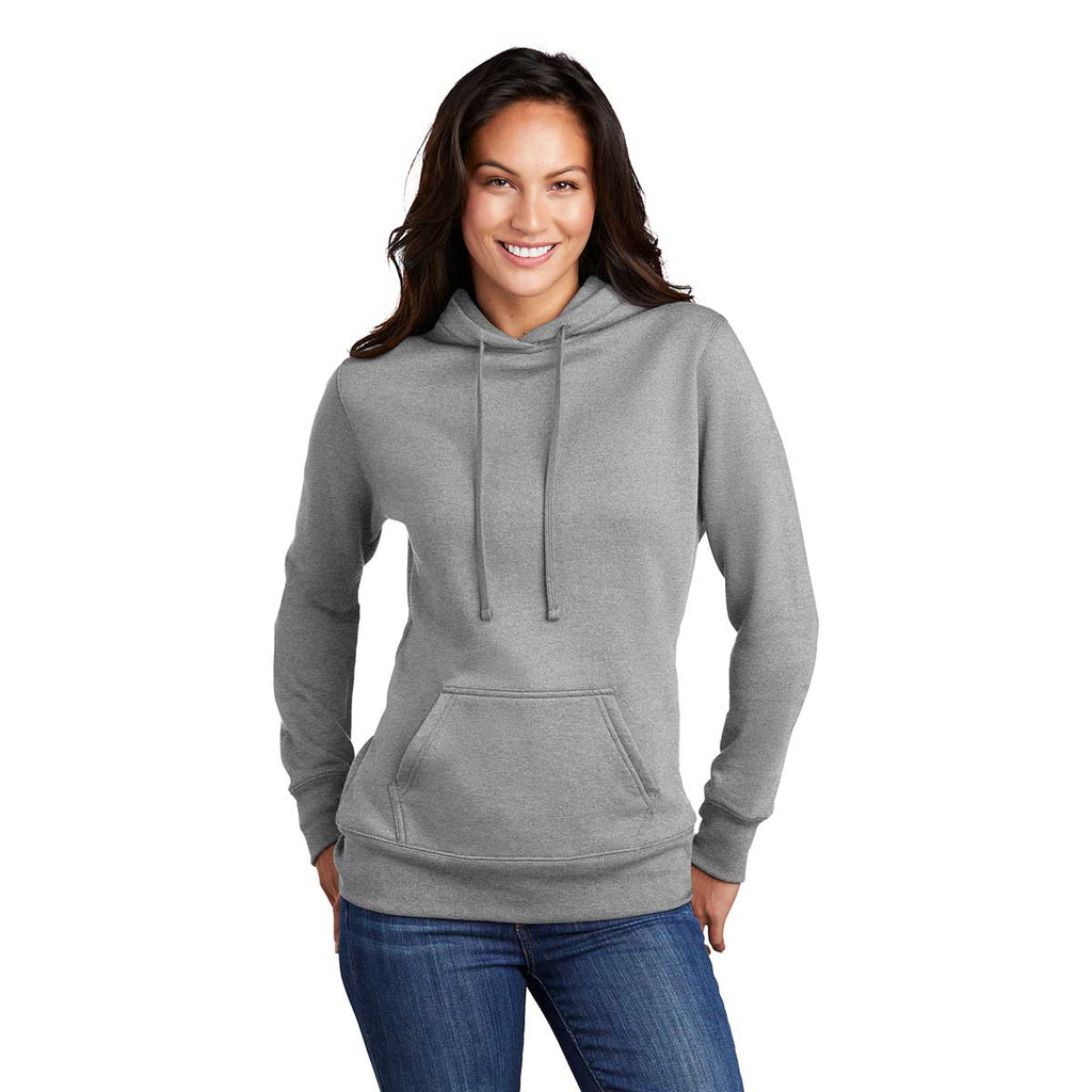 Port & Company Women's Athletic Heather Core Fleece Pullover Hoodie
