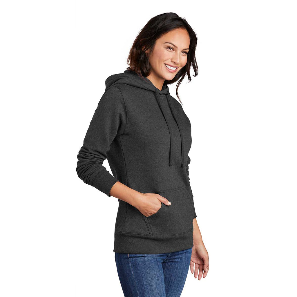 Port & Company Women's Dark Grey Heather Core Fleece Pullover Hoodie