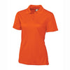 clique-womens-orange-pique-polo