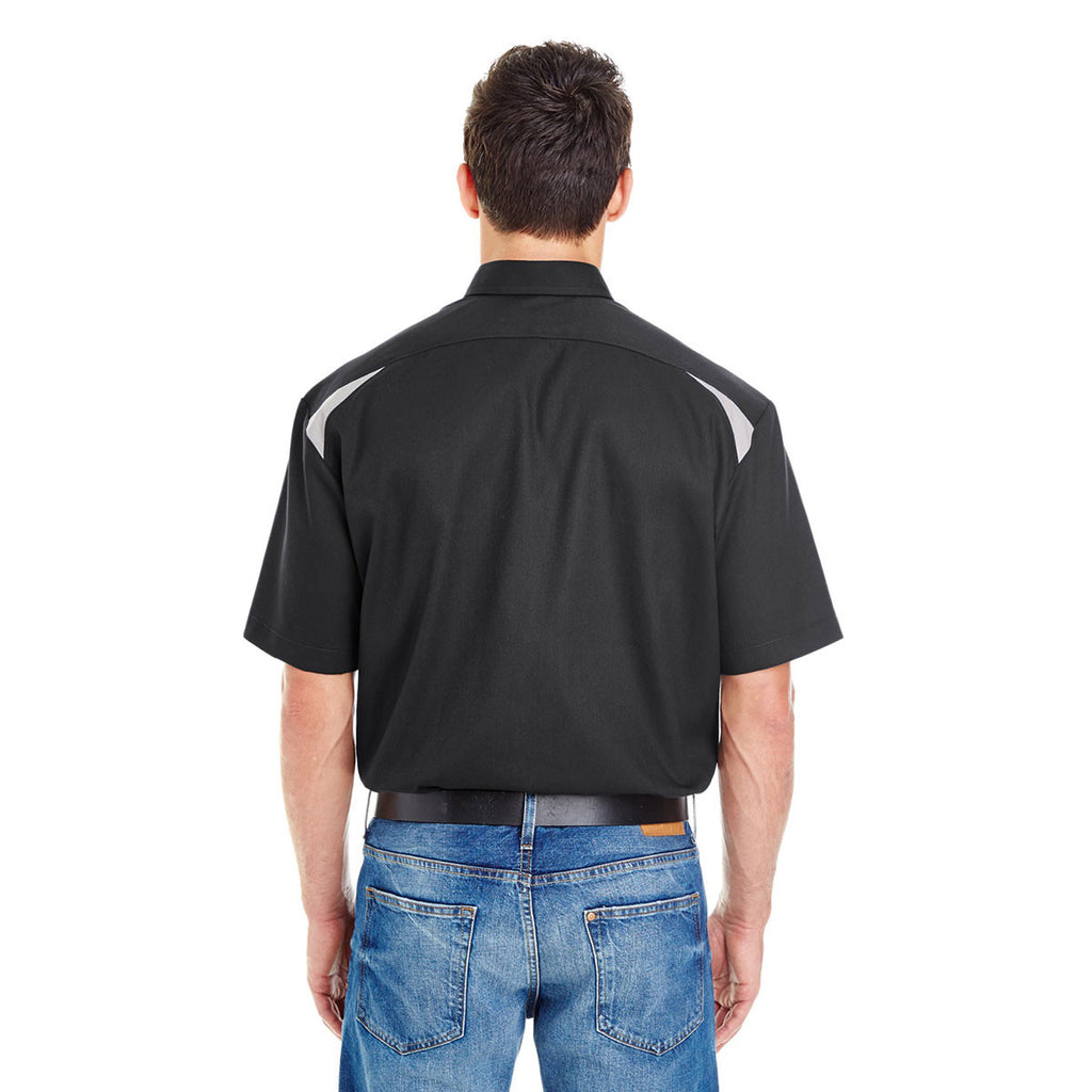 Dickies Men's Black/Smoke 4.6 Oz. Performance Team Shirt