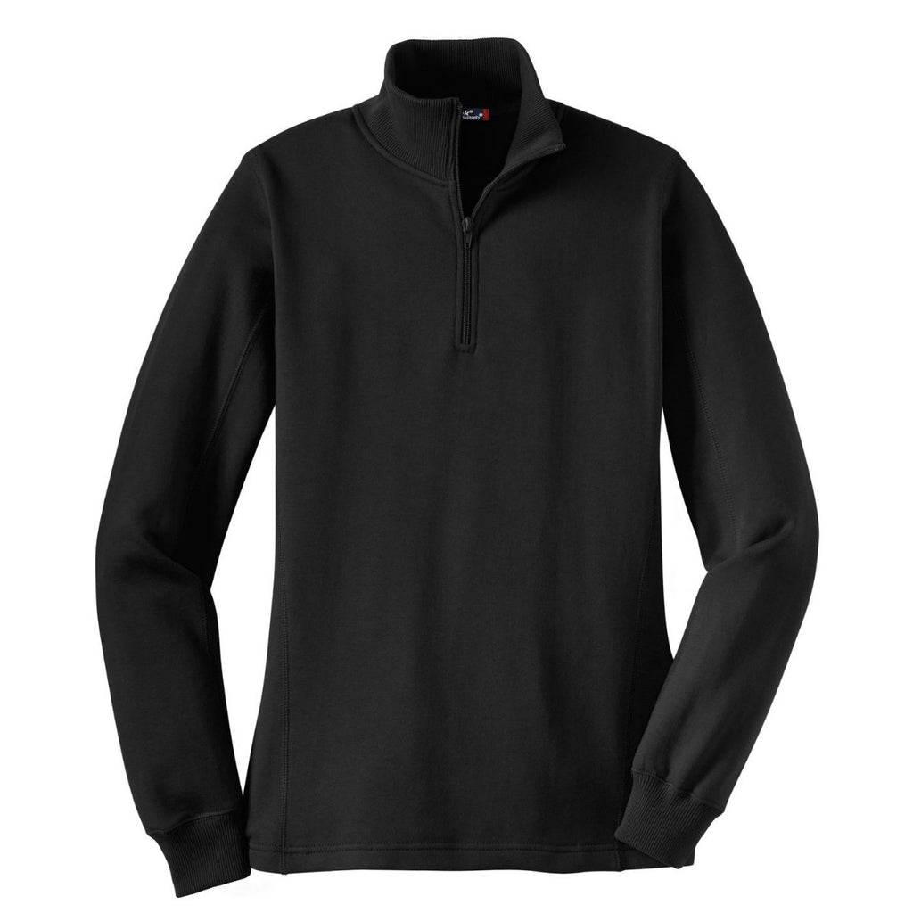 7cb4a687e3a ... Black 1 4-Zip Sweatshirt. ADD YOUR LOGO