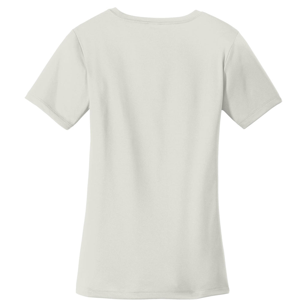 Sport-Tek Women's Silver PosiCharge Tough Tee