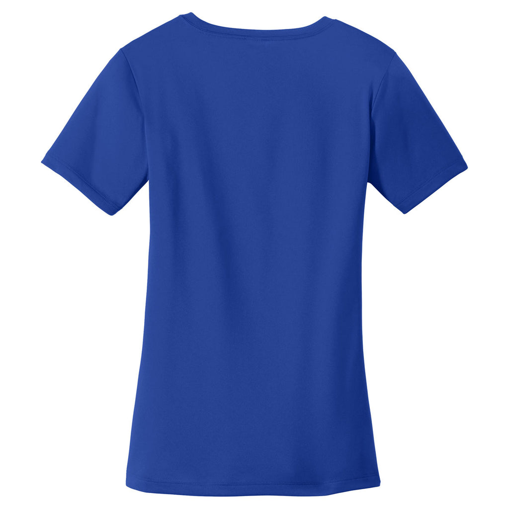 Sport-Tek Women's True Royal PosiCharge Tough Tee