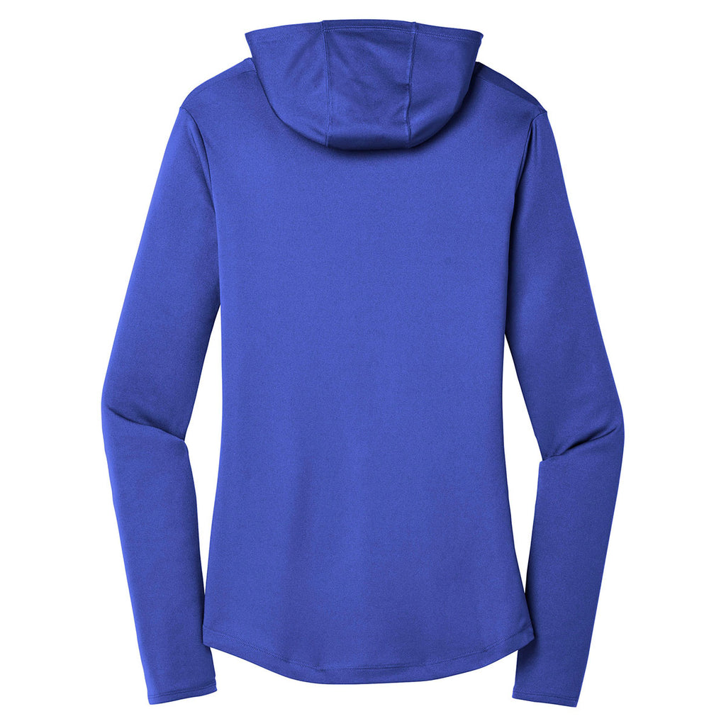 Sport-Tek Women's True Royal PosiCharge Competitor Hooded Pullover
