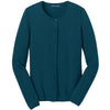 port-authority-women-blue-cardigan