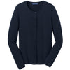 port-authority-women-navy-cardigan