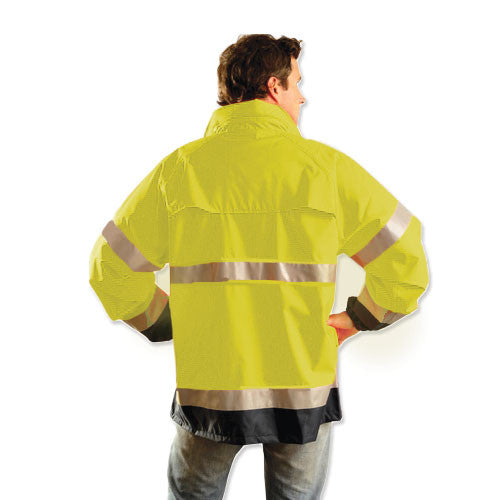 OccuNomix Men's Yellow Premium Breathable Jacket