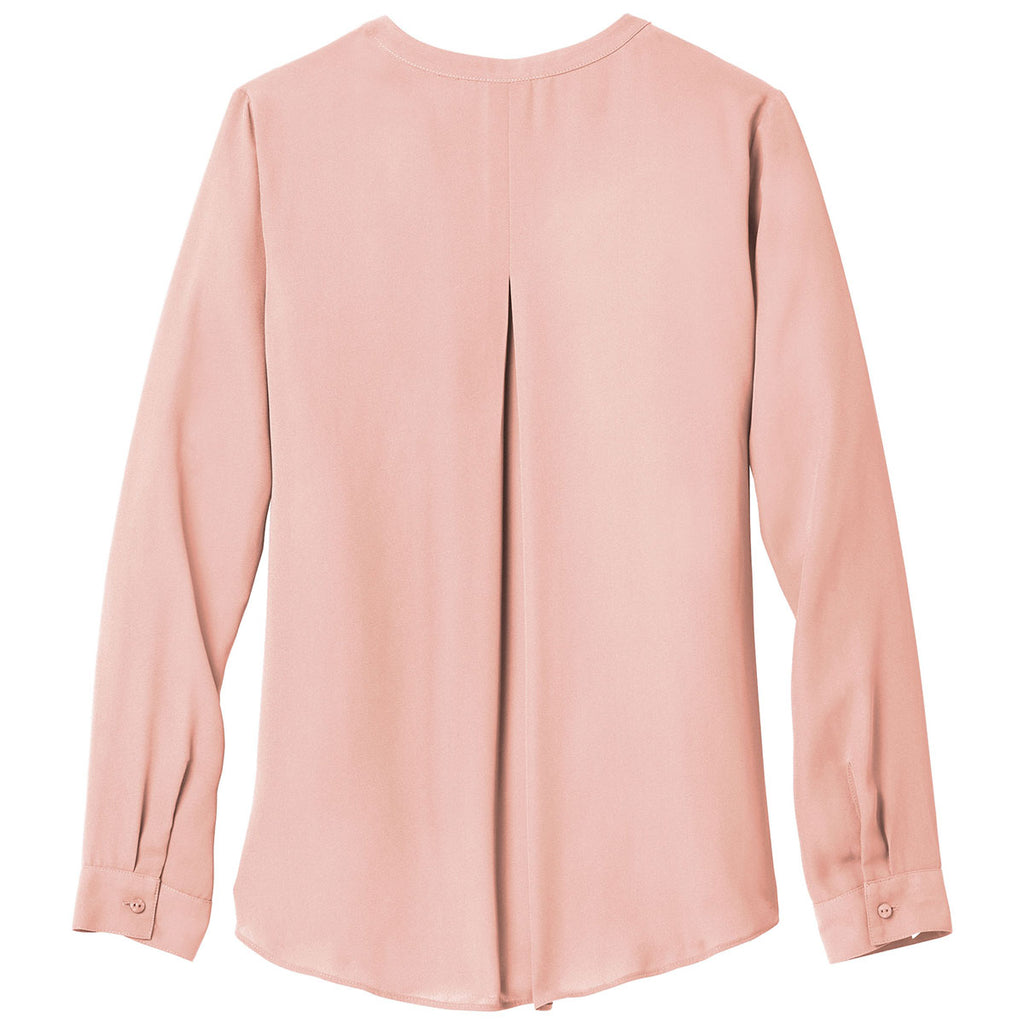 Port Authority Women's Rose Quartz Wrap Blouse