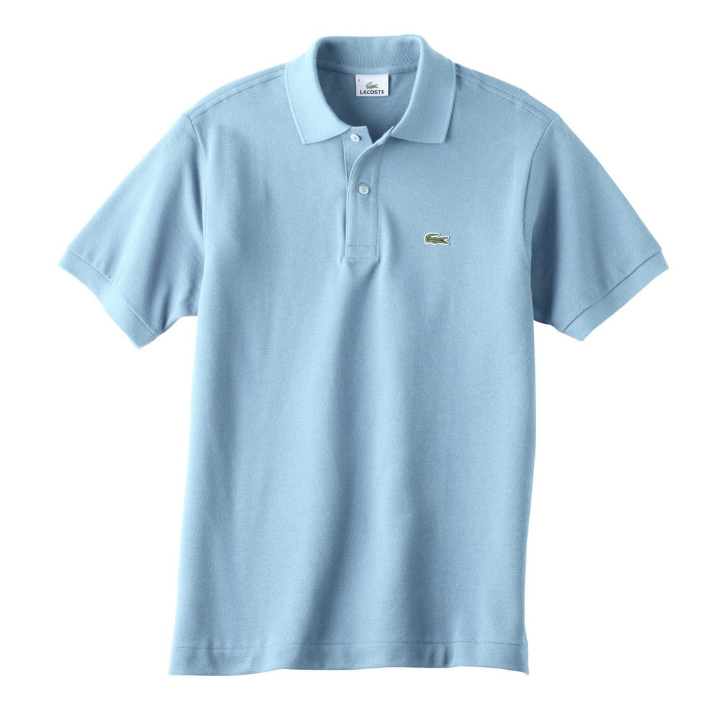 0be9f5aa079c Lacoste Men's Light Blue S/S Pique Polo